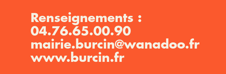 Commune > Burcin > Contacts mairie
